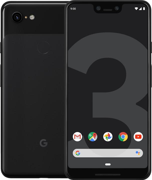 GOOGLE Pixel 3 XL, 4GB/64GB, černá
