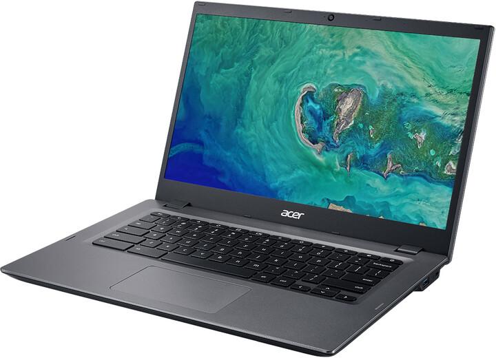 Acer Chromebook 14 (CP5-471-37MD), šedá