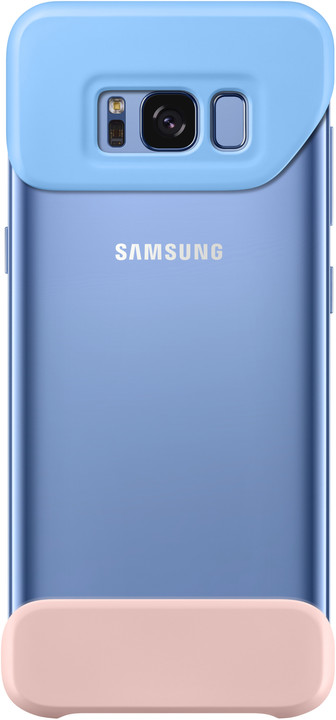 Samsung S8+, 2 dílný zadní kryt, modrá