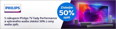TV Philips + Soundbar za 50% ceny po registraci (banner)
