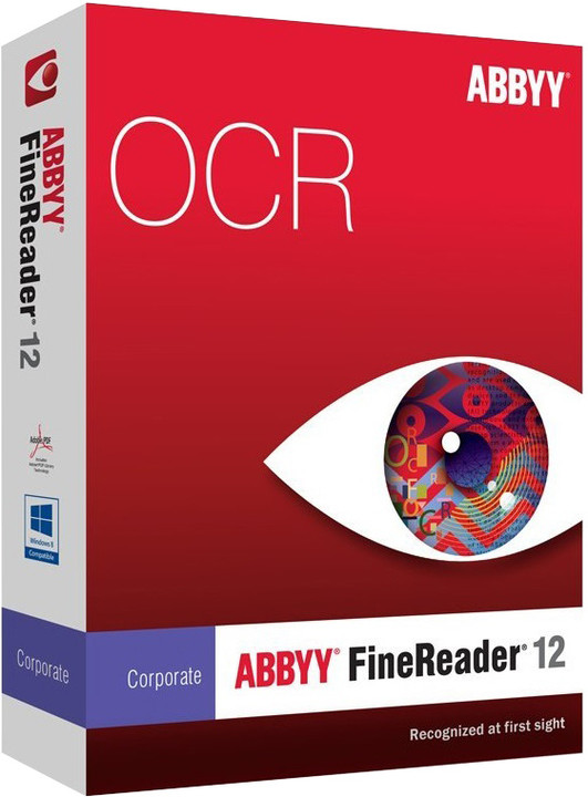 ABBYY FineReader 12 Corporate / ESD / Concurrent use / CZE