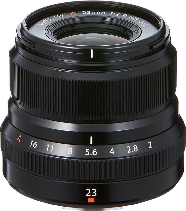 Fujinon XF23mm f/2 R WR