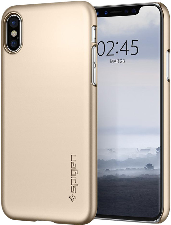 Spigen Thin Fit iPhone X, gold