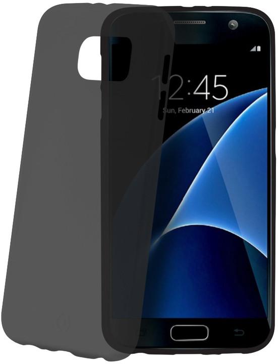CELLY Frost pouzdro pro Samsung Galaxy S7, 0,29 mm, černá