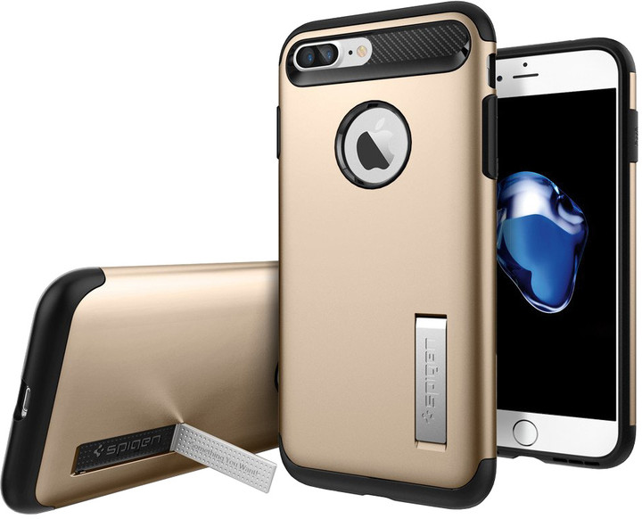 Spigen Slim Armor pro iPhone 7 Plus/8 Plus champagne gold