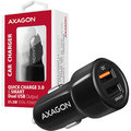 AXAGON QUICK a SMART nabíječka do auta, 2x port QC3.0/AFC/FCP + 5V-2.6A, 31.5W