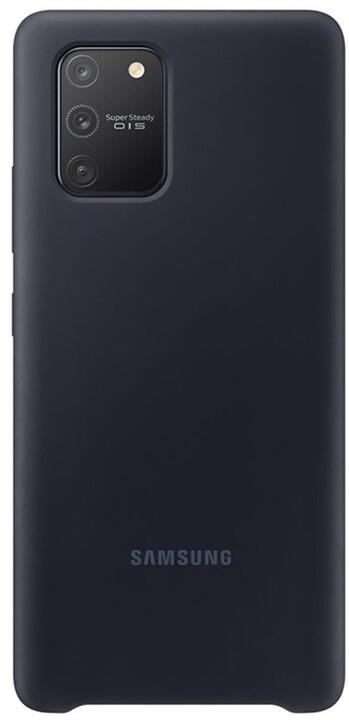 Samsung silikonový kryt pro Samsung Galaxy S10 Lite, černá