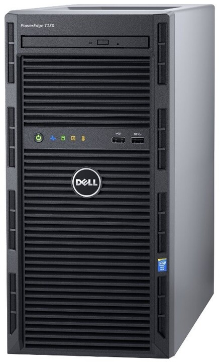 Dell PowerEdge T130 /1220/8GB/2x1TB NLSAS/H330/iDRAC 8 Basic/3YNBD Prosupport