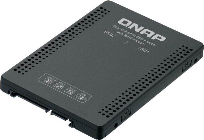 "QNAP diskový adaptér QDA-A2MAR, 2xM.2 SATA do 2,5"" SATA"