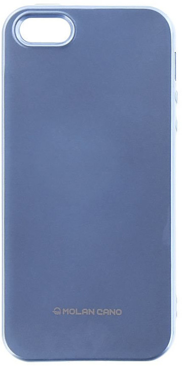 Molan Cano Jelly TPU Pouzdro pro Xiaomi Redmi Note 5A, nebesky modrá