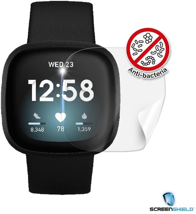Screenshield fólie Anti-Bacteria pro Fitbit Versa 3