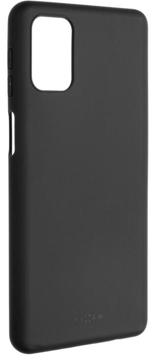 FIXED pogumovaný kryt Story pro Samsung Galaxy M31s, černá