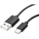 Xiaomi datový kabel s konektorem USB-C, černá (Bulk)