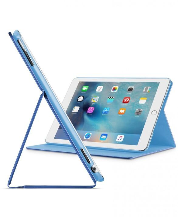 "CellularLine Pouzdro se stojánkem FOLIO pro Apple iPad 9,7"" (2017), modré"