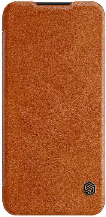 Nillkin Qin Book pouzdro pro Xiaomi Redmi Note 7, hnědá