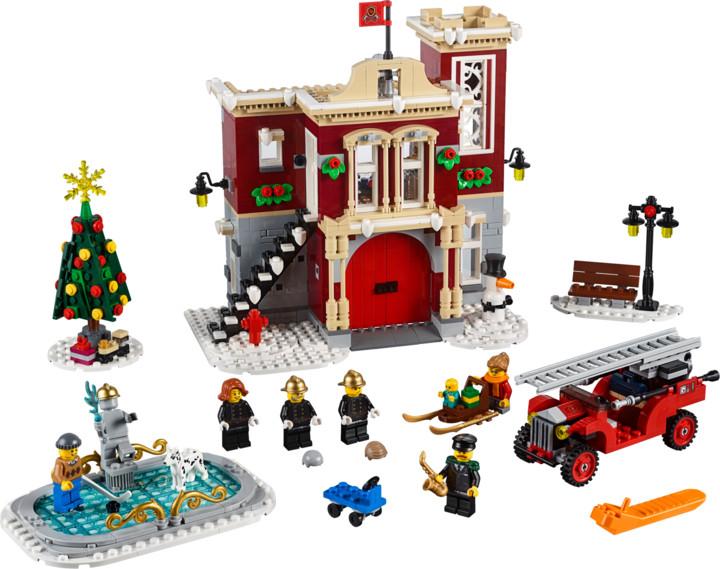 LEGO Creator Expert 10263 Hasičská stanice v zimní vesnici