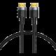 BASEUS kabel Cafule Series, HDMI 2.0, M/M, 4K@60Hz, 1m, černá