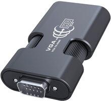PremiumCord VGA+audio elektronický konvertor na rozhraní HDMI - khcon-23