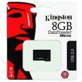 Kingston DataTraveler Micro 8GB, černá