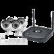 iGET HOMEGUARD HGNVK48904, 4-kanálový HD NVR + 4x IP kamera HD960p  + Voucher až na 3 měsíce HBO GO jako dárek (max 1 ks na objednávku)