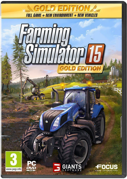 Farming Simulator 2015 - Zlatá edice (PC)