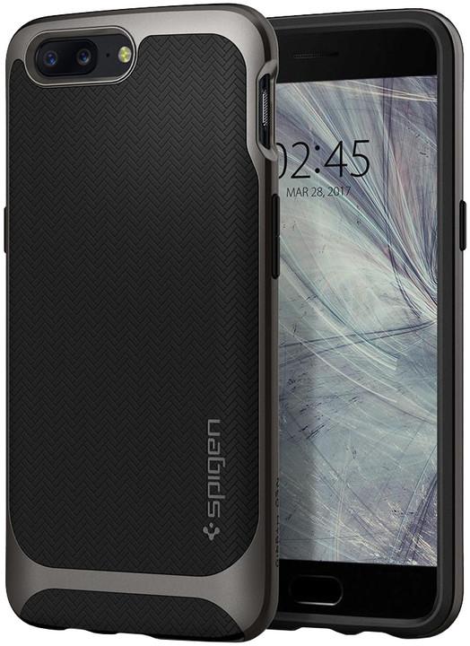 Spigen Neo Hybrid pro OnePlus 5, gunmetal