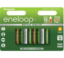 Panasonic Eneloop HR03 AAA 4MCCE/8RE 750mAh Botanic pack - 35051443