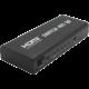 PremiumCord HDMI switch 5:1 kovový s dálkovým ovladačem a napájecím adaptérem