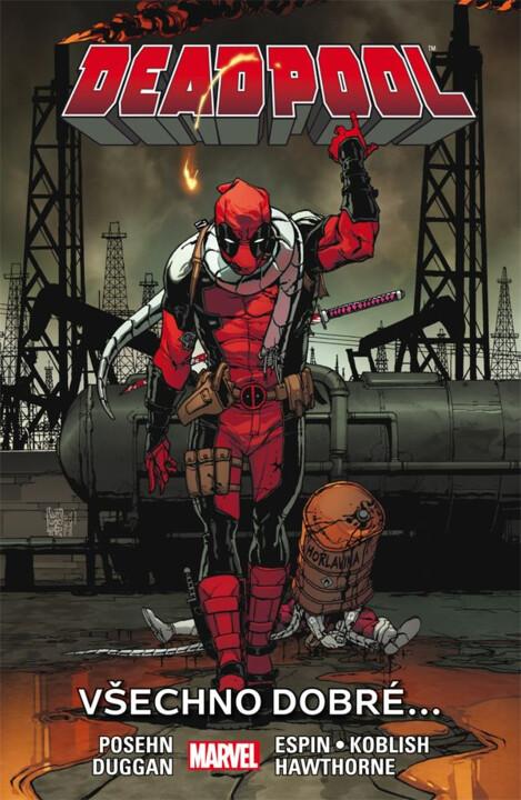 Komiks Deadpool 8: Všechno dobré…