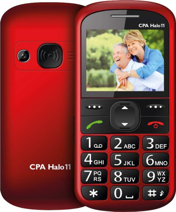 CPA HALO 11 s nabíjecím stojánkem, Red