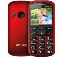 CPA HALO 11 s nabíjecím stojánkem, Red - TELMY1011RE