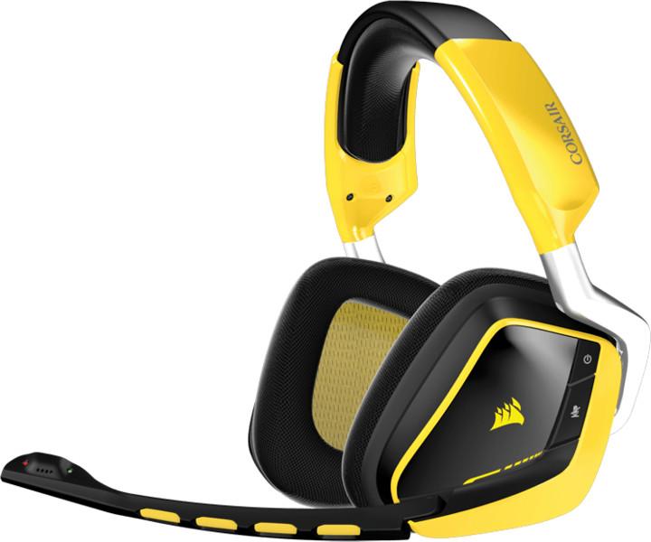 Corsair Gaming VOID Wireless SE, Yellowjacket