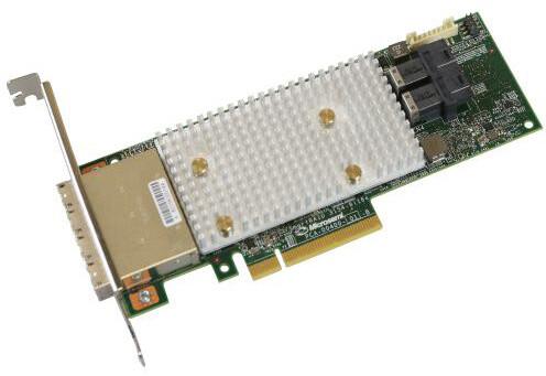 Microsemi Adaptec řadič SmartRAID 3154-8i16e Single, 12Gbps SAS/SATA, 8 portů int., 16 por. ext