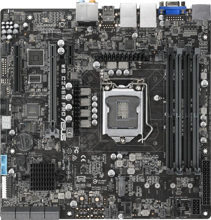 ASUS WS C246M PRO - Intel C246