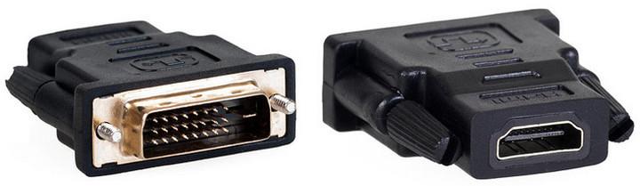 AQ DVI samec - HDMI samice