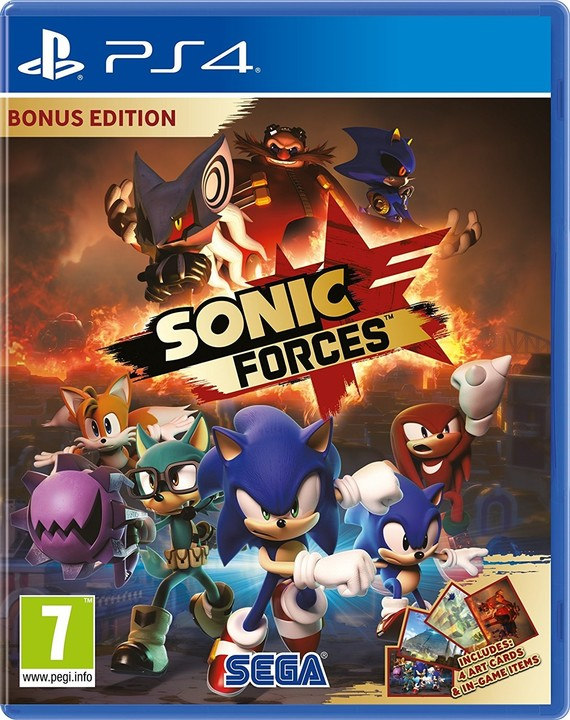 Sonic Forces - Bonus Edition (PS4)