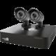 iGET HOMEGUARD HGDVK46702, 4-kanálový HD DVR + 2x HGPRO728 kamera HD720p, IP66