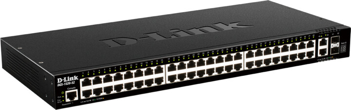 D-Link DGS-1520-52, NBD