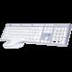 CONNECT IT CKM-7510 bezdrátová klávesnice + myš, šedý, CZ/SK