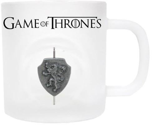 Game of Thrones - Otáčející 3D Logo Lannisterů