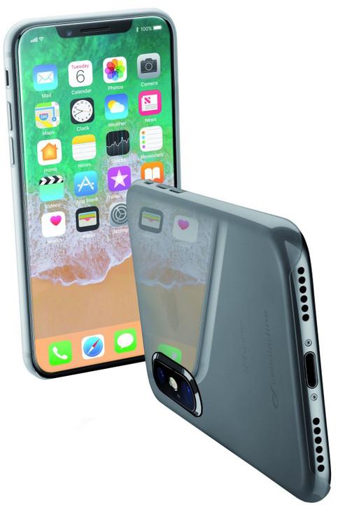 CellularLine ZERO ultratenký zadní kryt pro Apple iPhone X, čirý