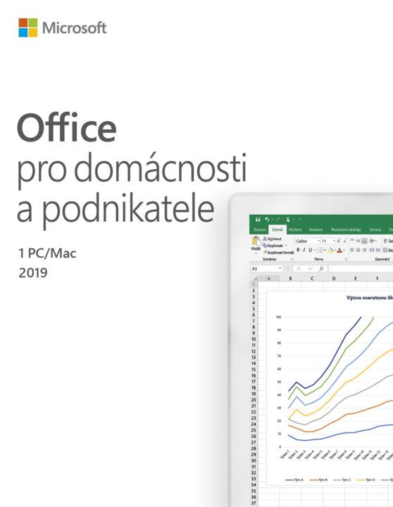Microsoft Office 2019 pro domácnosti a podnikatele - pouze k PC