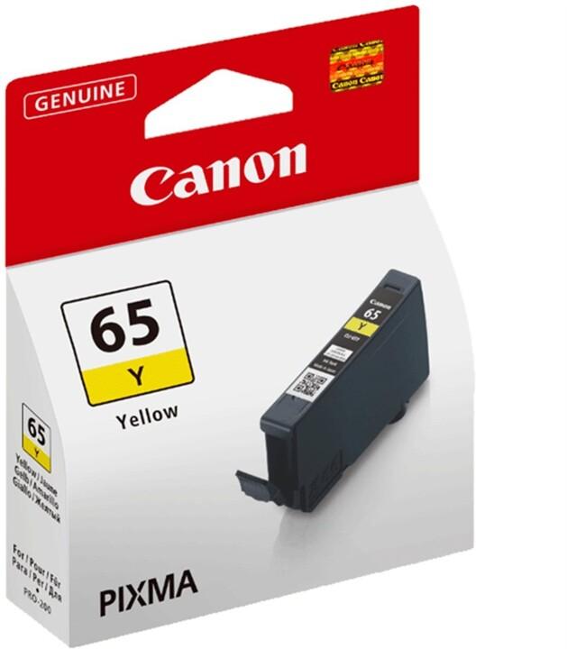 Canon CLI-65Y, žlutá