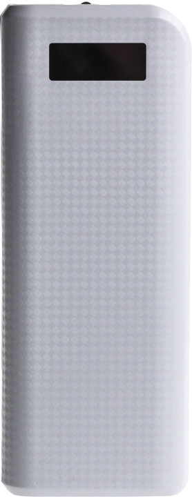 Remax powerbank, 20000 mAh, bílá/carbon