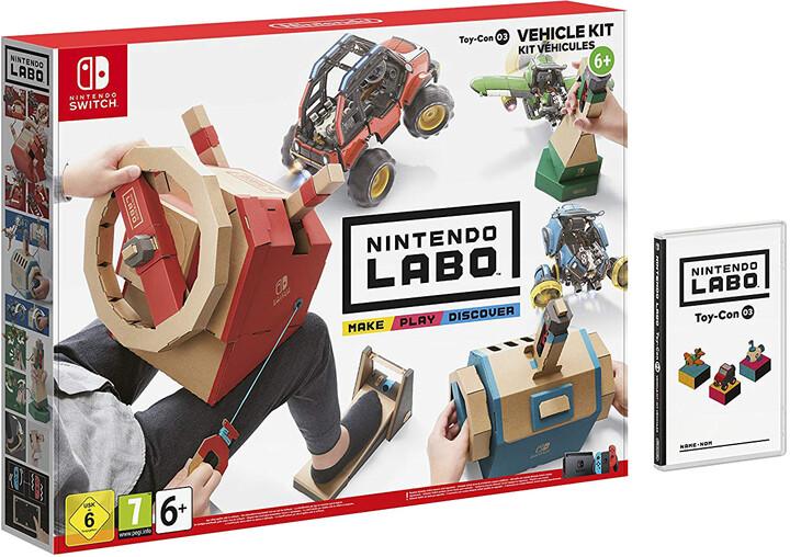 Nintendo Labo - Vehicle Kit (SWITCH)