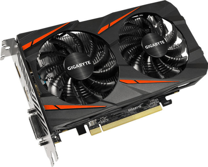 GIGABYTE Radeon RX 550 Gaming, 2GB GDDR5