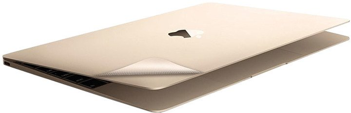 KMP ochranná samolepka pro 12'' MacBook, 2015, zlatá