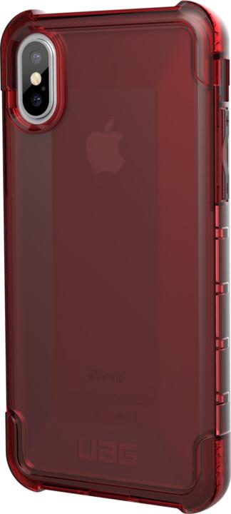 UAG Plyo case Crimson - iPhone X, red