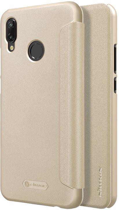 Nillkin Sparkle Folio pouzdro pro Huawei P20 Lite, zlatá