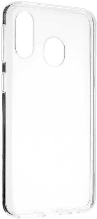 FIXED ultratenké TPU gelové pouzdro Skin pro Samsung Galaxy A40, 0,6 mm, čiré